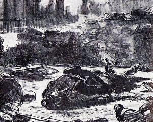 La guerre civile représentée par Manet (source : Wikipédia)